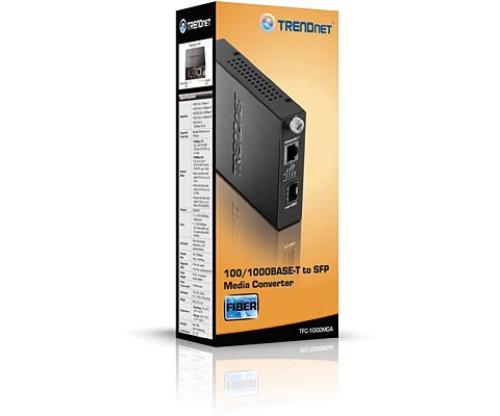 Trendnet TFC-1000MGA SFP Media Converter