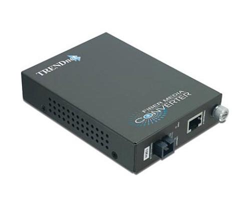 Trendnet TFC-1000S10D3 Intelligent Dual Wavelength Fiber Converter, 10KM