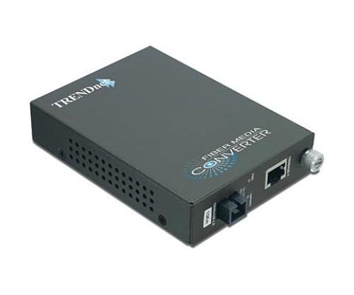 Trendnet TFC-1000S10D5 Intelligent Dual Wavelength Fiber Converter, 10KM