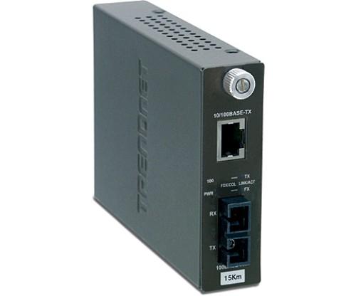 Trendnet TFC-110S15 Fiber Converter, 15KM
